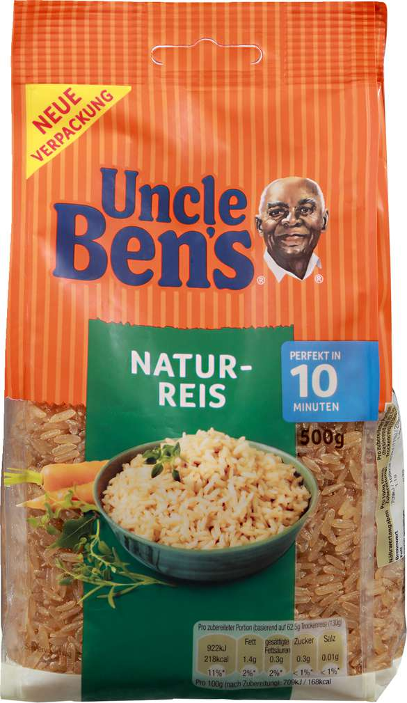 Abbildung des Sortimentsartikels Uncle Ben's Natur-Reis 500 gr