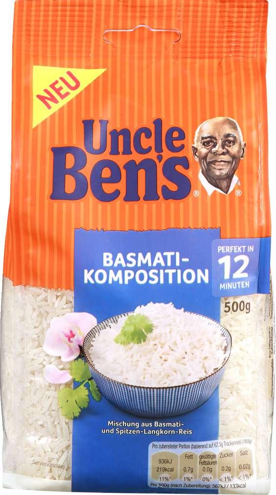 Abbildung des Sortimentsartikels Uncle Ben's Basmati & Spitzen-Langkorn-Reis 500 gr
