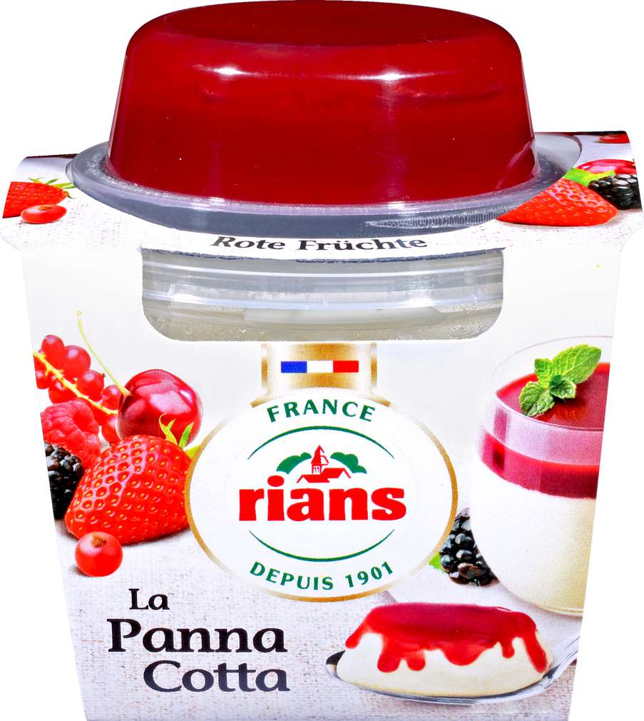 Abbildung des Sortimentsartikels Direct-France Panna Cotta Rote Früchte 105g