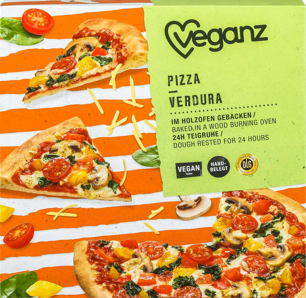 Abbildung des Sortimentsartikels Veganz Pizza Verdura vegan 410g