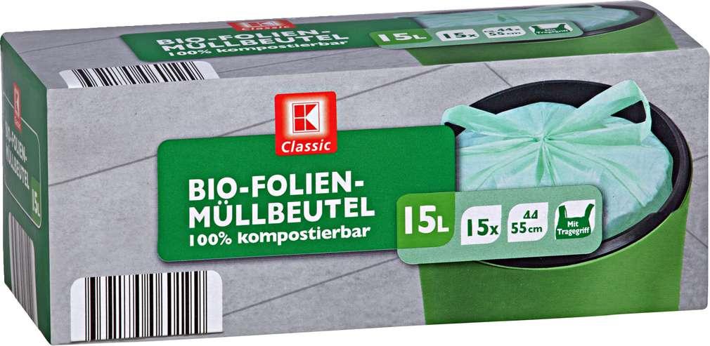 Abbildung des Sortimentsartikels K-Classic Bio-Folien-Müllbeutel 15 l 15 Stück