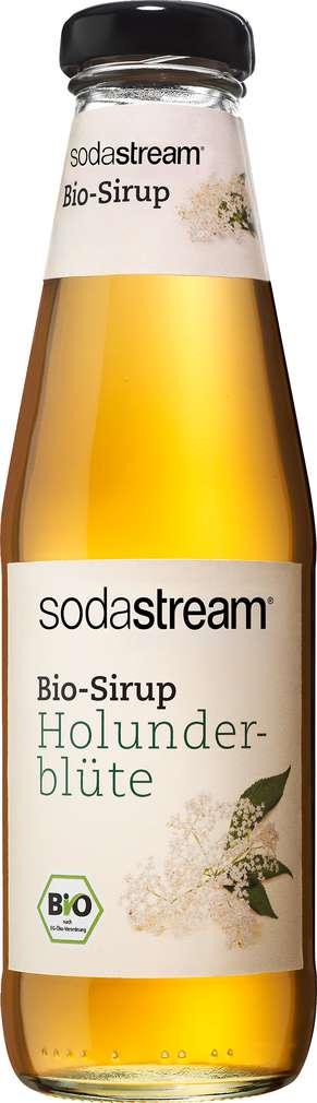 Abbildung des Sortimentsartikels SodaStream Sirup Holunderblüte 500ml