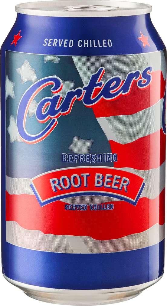 Abbildung des Sortimentsartikels Carters Root Beer 0,33l