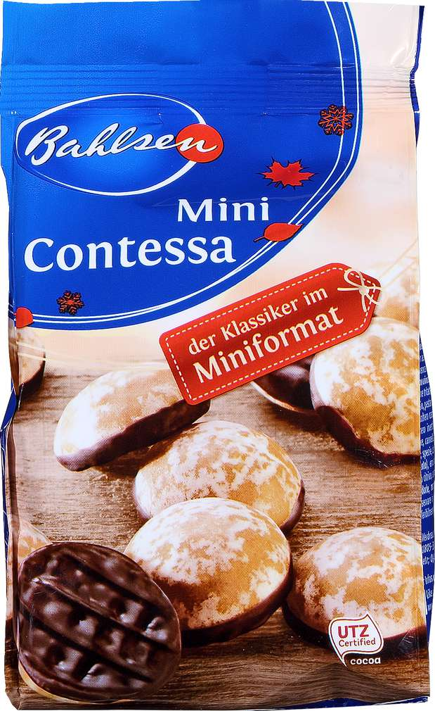 Abbildung des Sortimentsartikels Bahlsen Contessa Minis Lebkuchen 100g