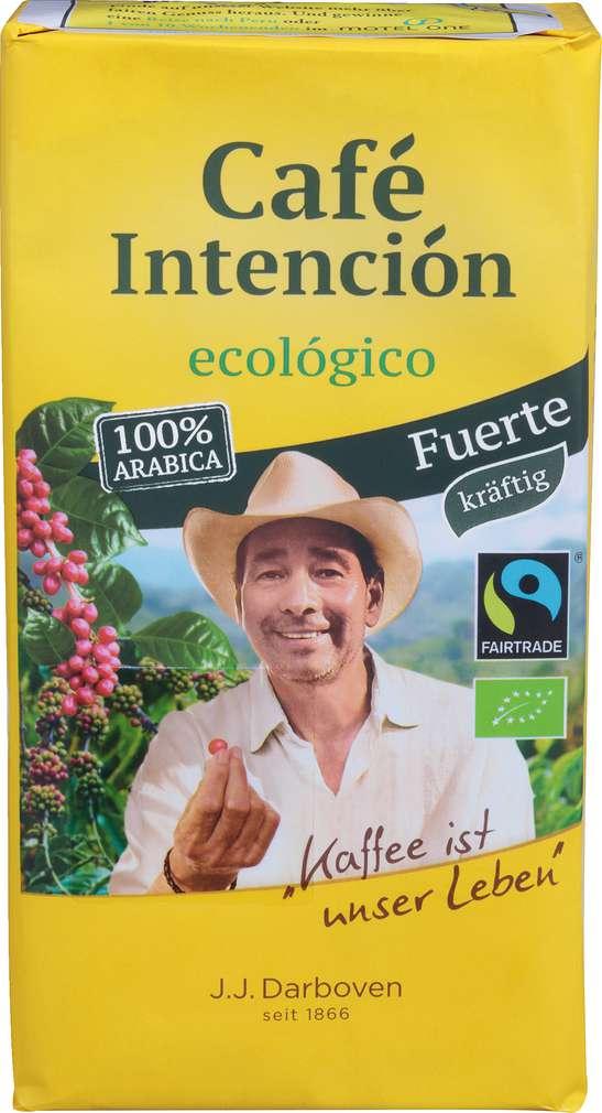 Abbildung des Sortimentsartikels Darboven Bio-Cafe Intencion Ecologico, Fairtrade 500g