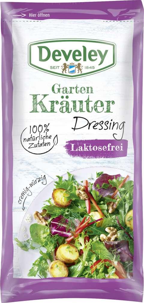 Abbildung des Sortimentsartikels Develey Dressing Kräuter, laktosefrei 75ml