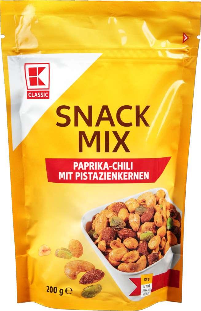 Abbildung des Sortimentsartikels K-Classic Snack Mix mit Pistazien 200g