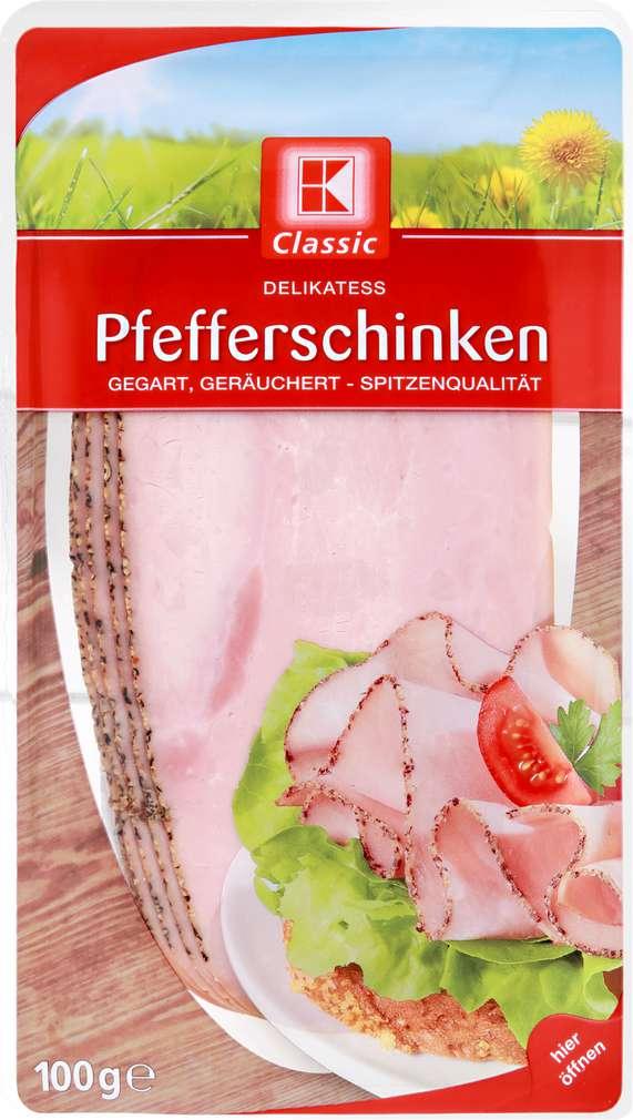 Abbildung des Sortimentsartikels K-Classic Pfefferschinken 100g