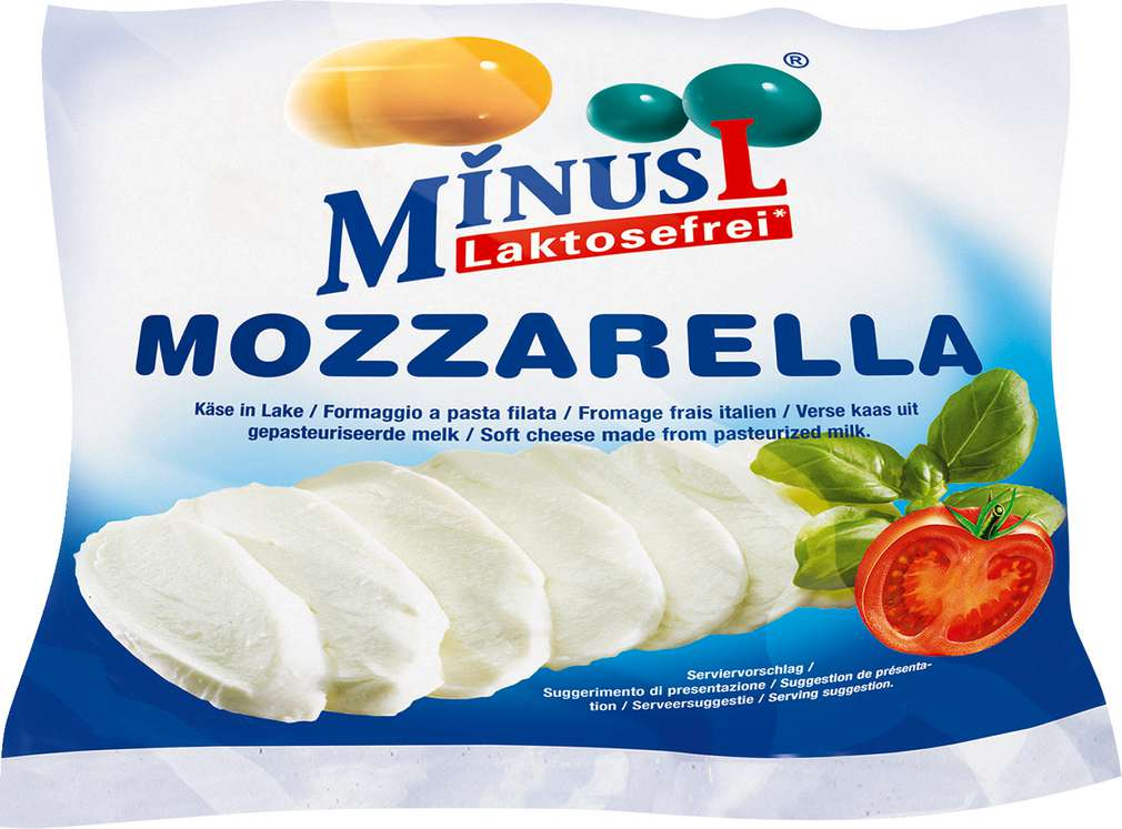 Abbildung des Sortimentsartikels MinusL Mozzarella 215g