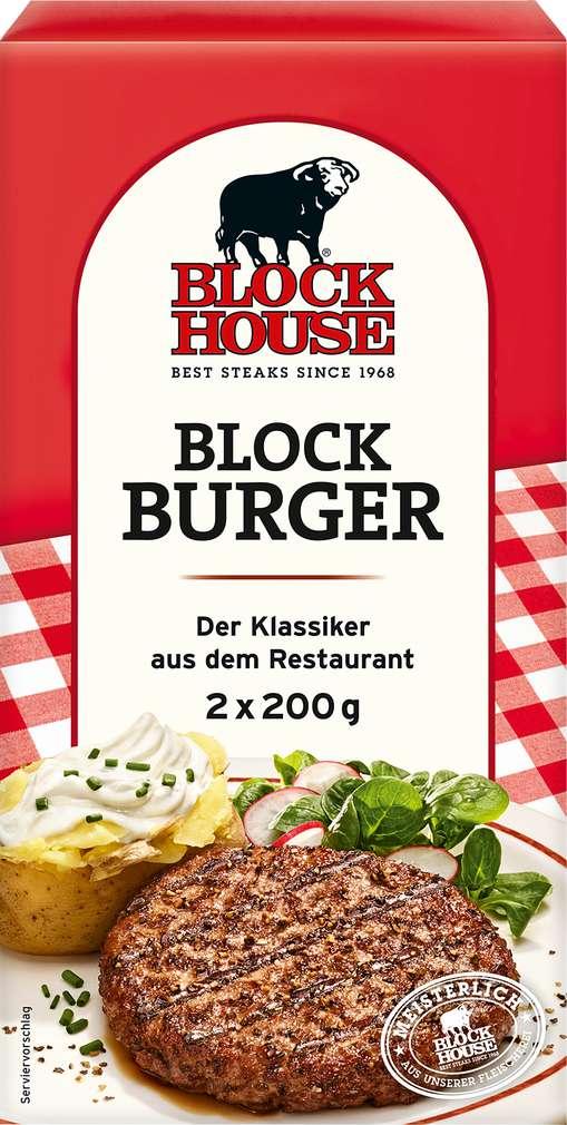 Abbildung des Sortimentsartikels Block House Block Burger Classic 400g, 2 Stück