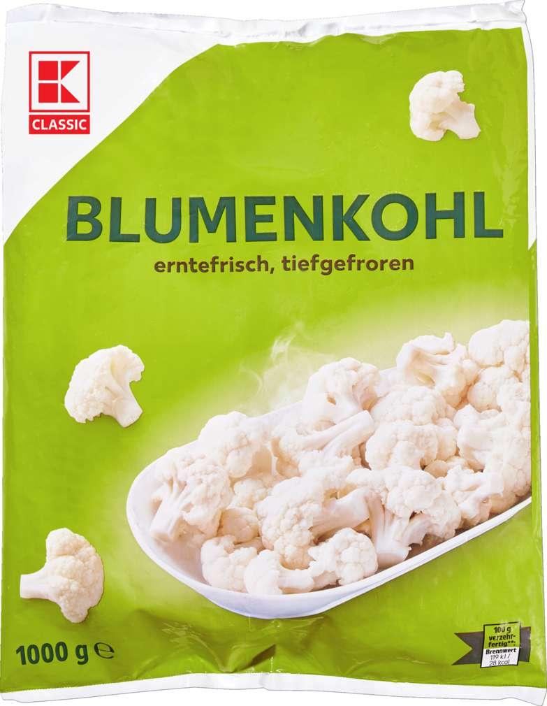 Abbildung des Sortimentsartikels K-Classic Blumenkohl 1000g