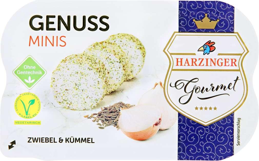 Abbildung des Sortimentsartikels Harzinger Genuss Minis Zwiebel & Kümmel 100g