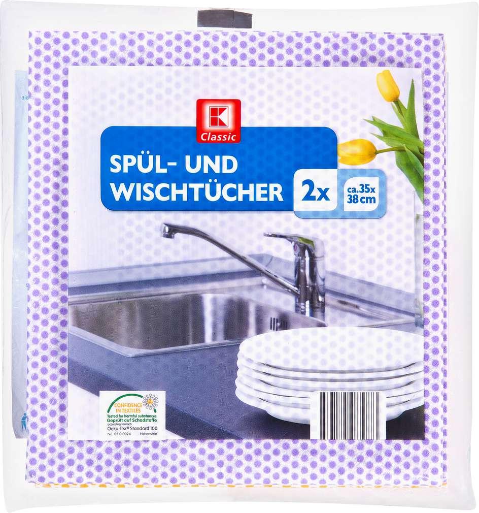 Abbildung des Sortimentsartikels K-Classic Spül- und Wischtücher 2 Stück