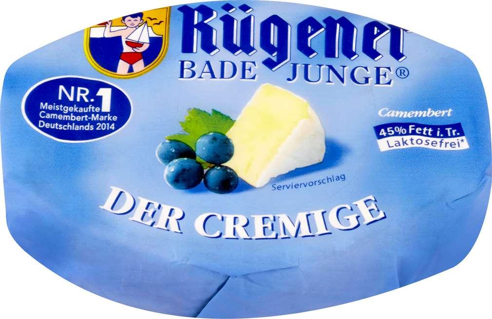 Abbildung des Sortimentsartikels Rügener Bade Junge Camembert der Cremige 150g