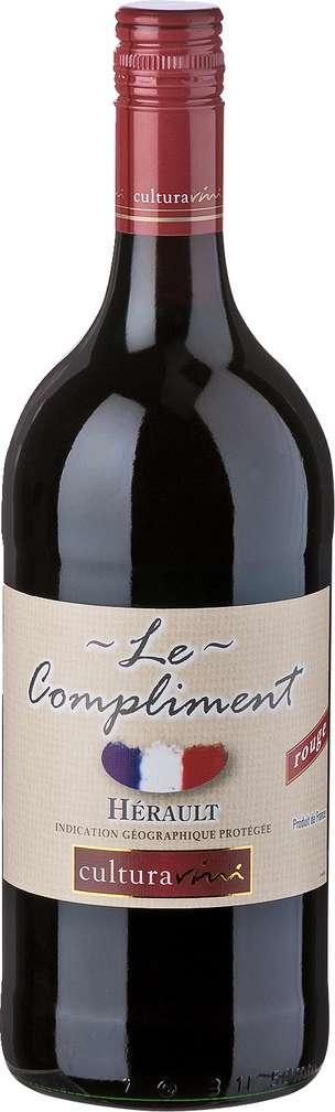 Abbildung des Sortimentsartikels Cultura Vini Le Compliment rouge 1l