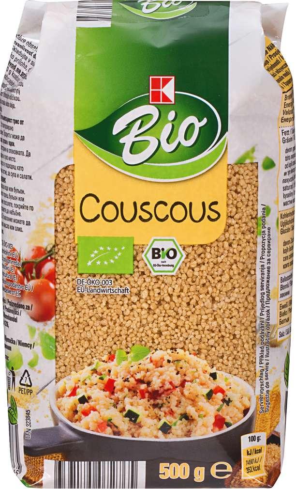 Abbildung des Sortimentsartikels K-Bio Couscous 500g
