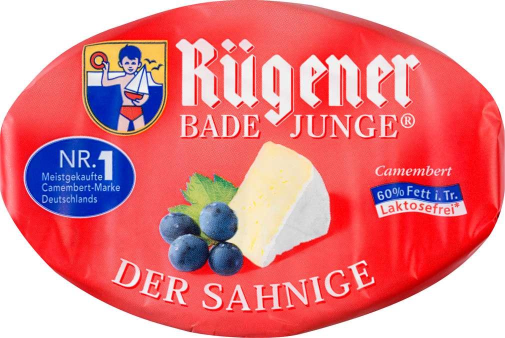 Abbildung des Sortimentsartikels Rügener Bade Junge Camembert der Sahnige 150g