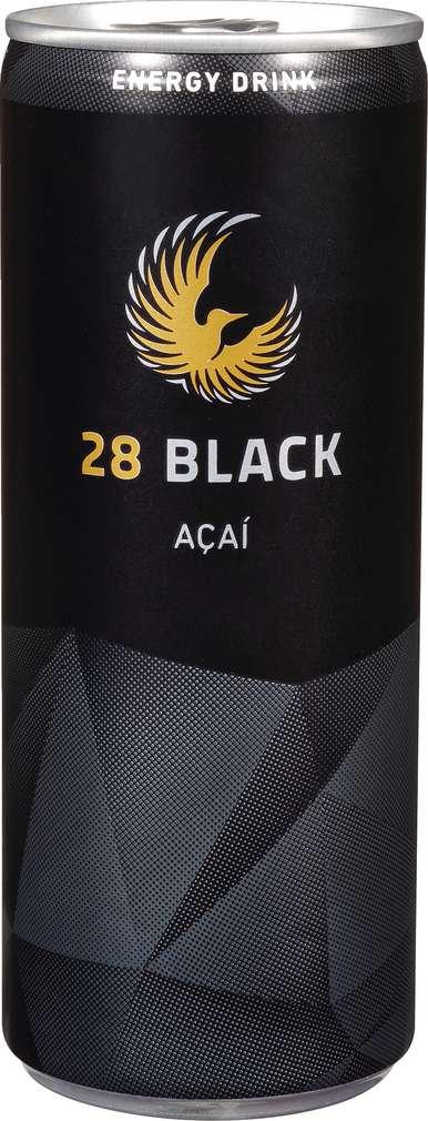 Abbildung des Sortimentsartikels 28 Black Energy Drink Acai 0,25l