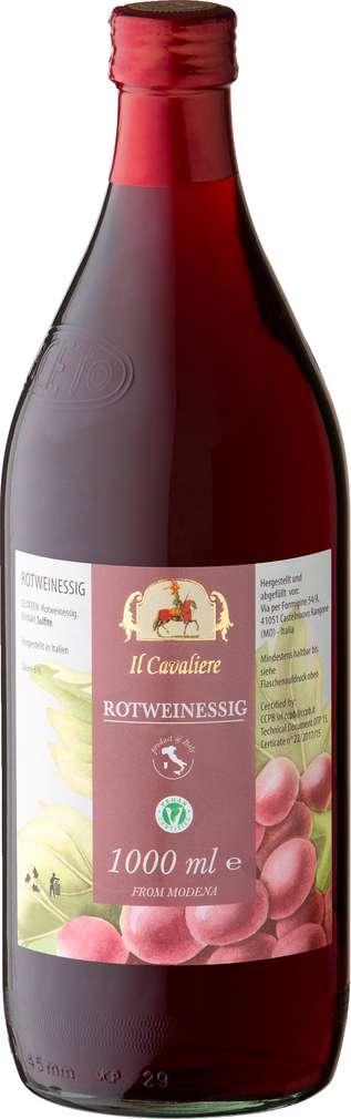 Abbildung des Sortimentsartikels Il Cavaliere Italienischer Rotweinessig 1L