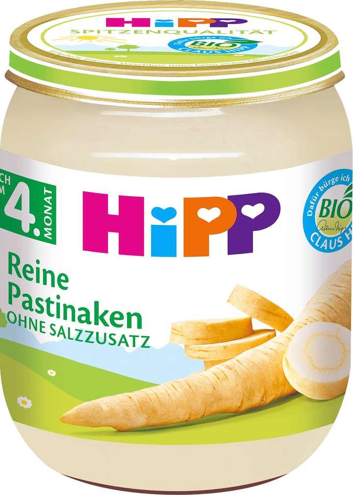 Abbildung des Sortimentsartikels Hipp Reine Pastinaken 125g