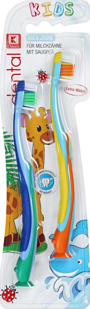 Abbildung des Sortimentsartikels K-Classic dental Zahnbürste Kids Weich 2 Stück