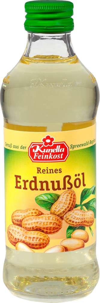 Abbildung des Sortimentsartikels Kunella Feinkost Erdnussöl 250ml