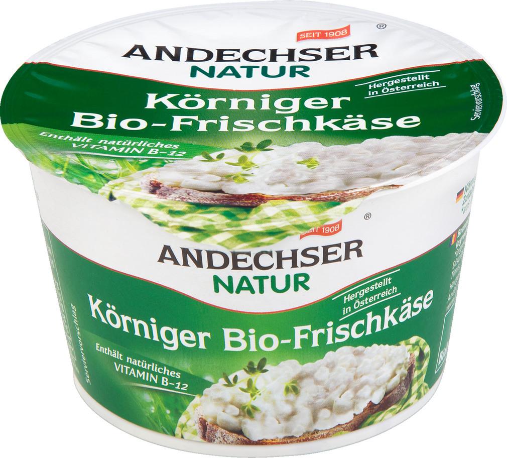 Abbildung des Sortimentsartikels Andechser Natur Körniger Bio-Frischkäse 200g