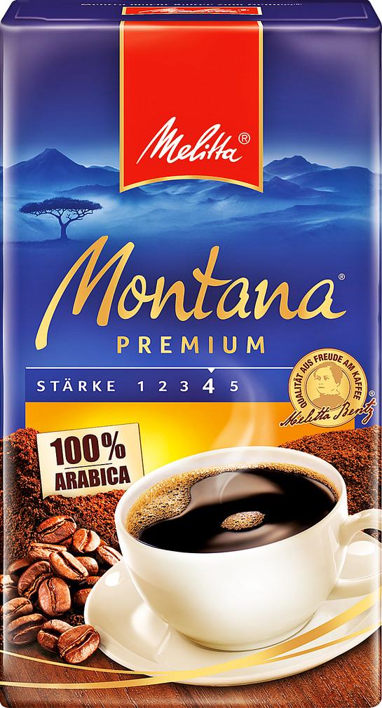 Abbildung des Sortimentsartikels Melitta Montana Premium 500g
