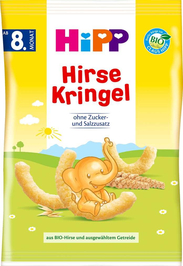 Abbildung des Sortimentsartikels Hipp Kinder Hirse-Kringel 30g