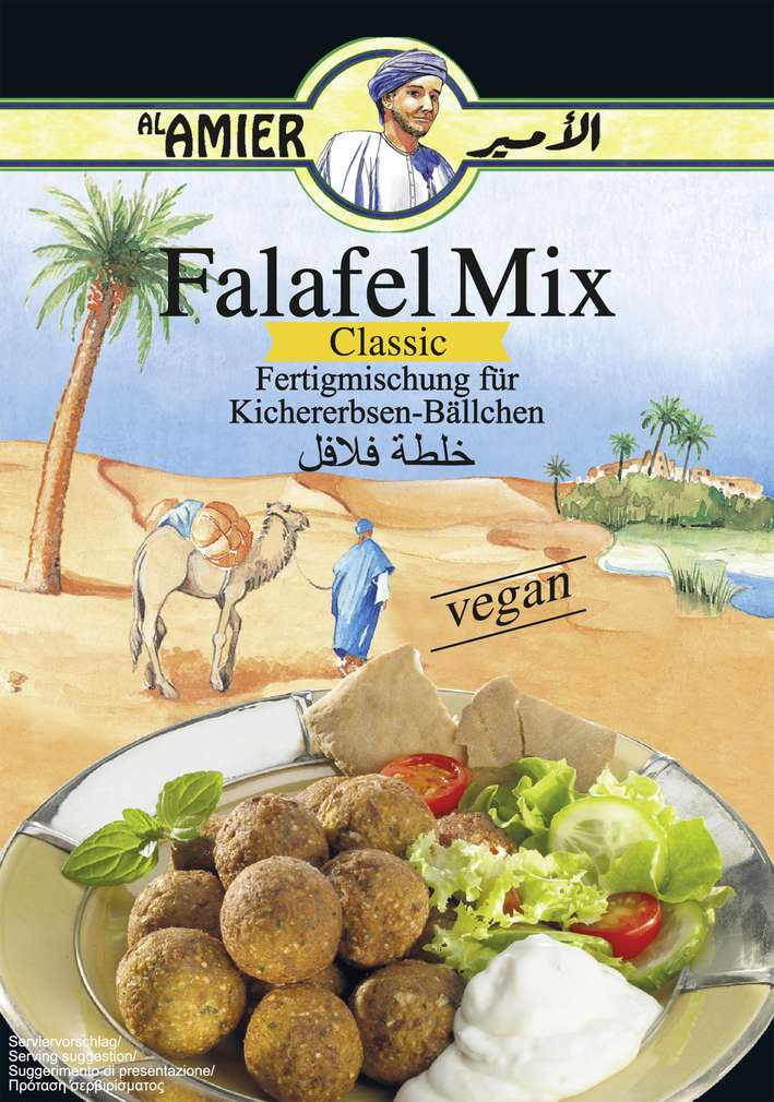 Abbildung des Sortimentsartikels Alamier Falafel-Mix Fertigmischung 200g