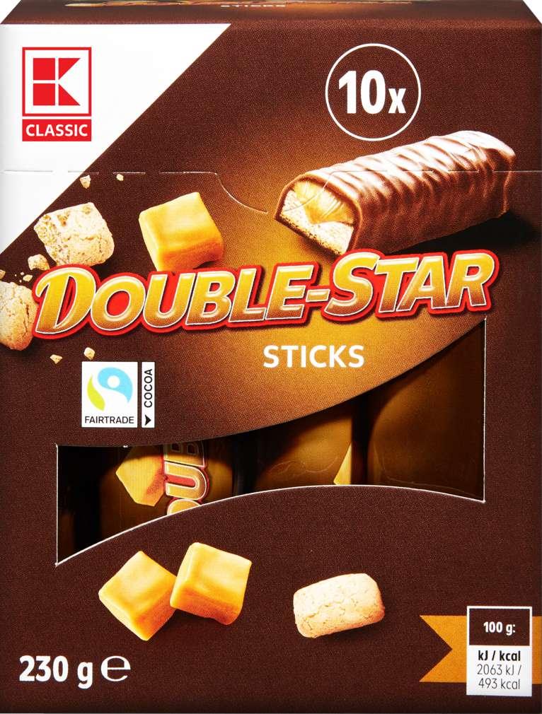 Abbildung des Sortimentsartikels K-Classic Double Star Schokoriegel 10er 230g