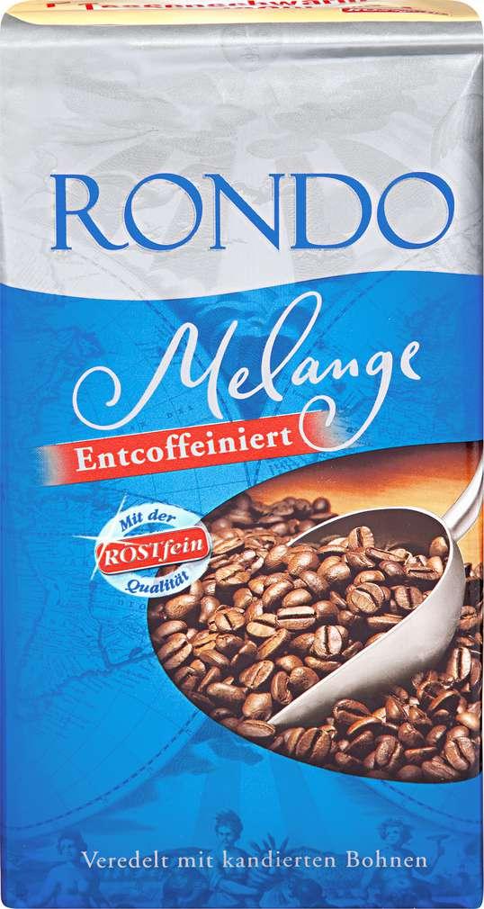 Abbildung des Sortimentsartikels Rondo Melange Entcoffeiniert 500g