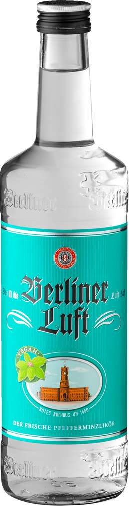 Abbildung des Sortimentsartikels Berliner Luft Pfefferminzlikör 0,7l