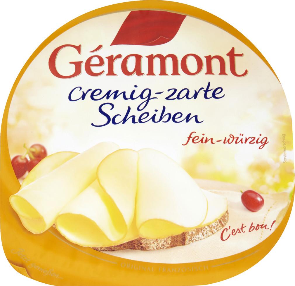 Abbildung des Sortimentsartikels Géramont Cremig-zarte Scheiben 130g