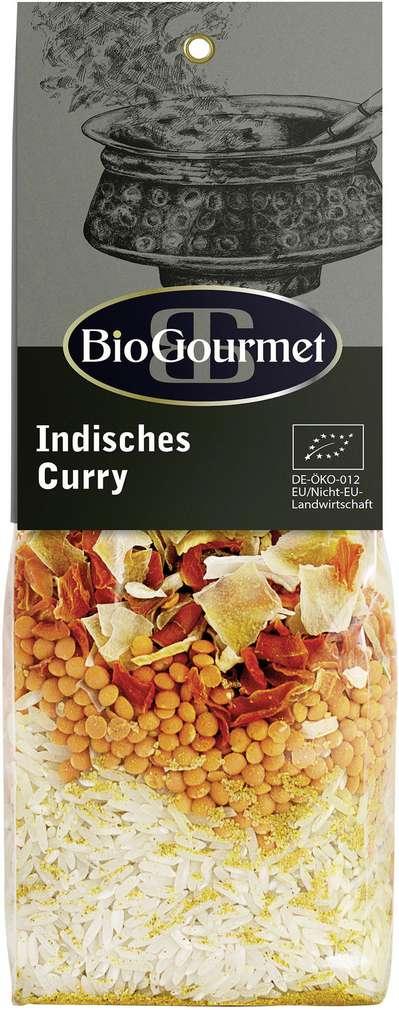 Abbildung des Sortimentsartikels BioGourmet Bio-Indisches Curry 250g