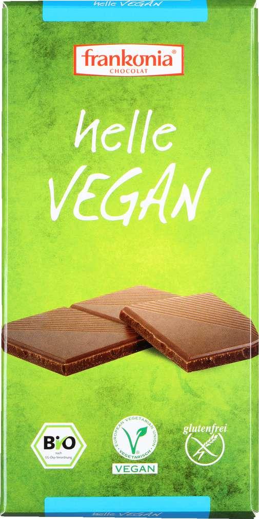 Abbildung des Sortimentsartikels Frankonia Chocolat Helle Vegan 100g