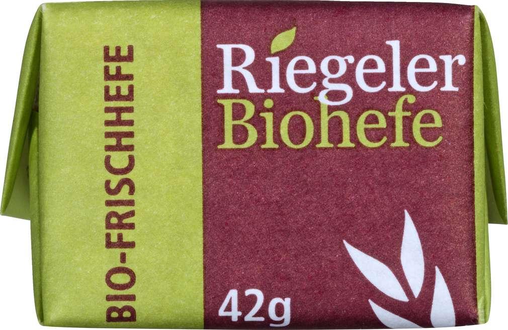 Abbildung des Sortimentsartikels Riegeler Bio Frischhefe 42g