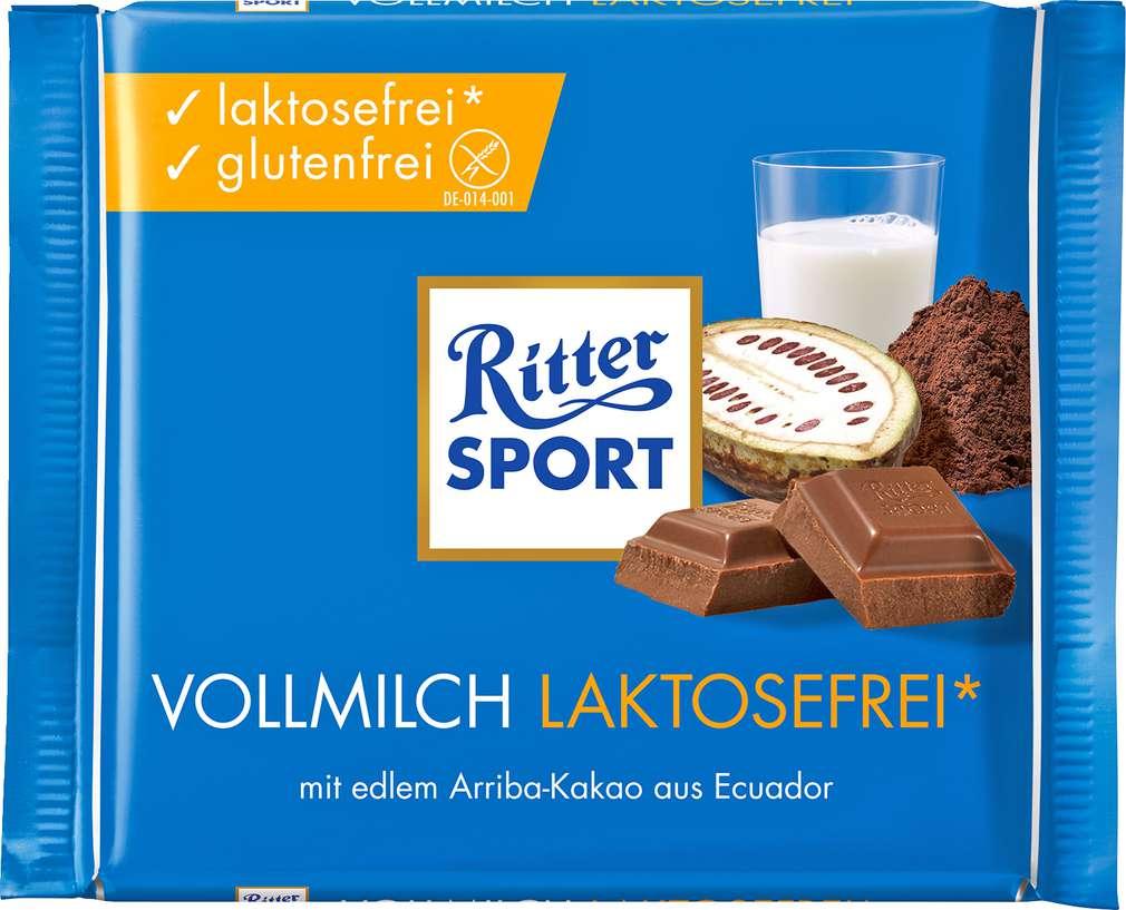 Abbildung des Sortimentsartikels Ritter Sport Vollmilch Laktosefrei 100g