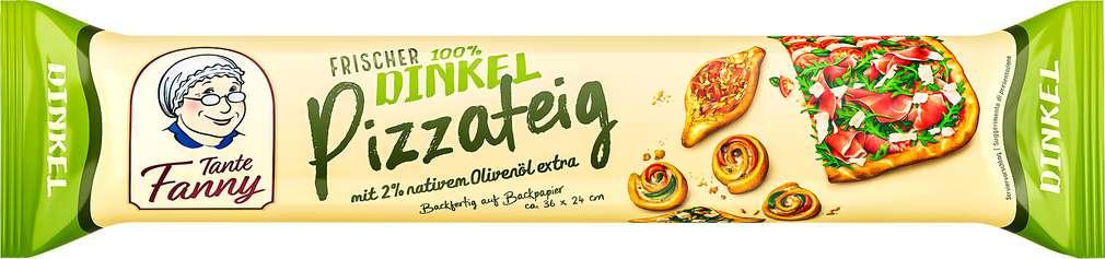 Abbildung des Sortimentsartikels Tante Fanny Frischer Dinkel-Pizzateig 400 g