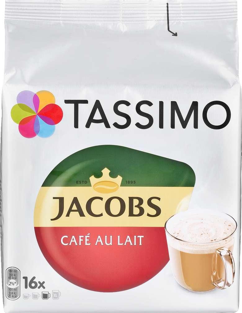 Abbildung des Sortimentsartikels Jacobs Tassimo Café Au Lait 184g, 2x8 Kapseln