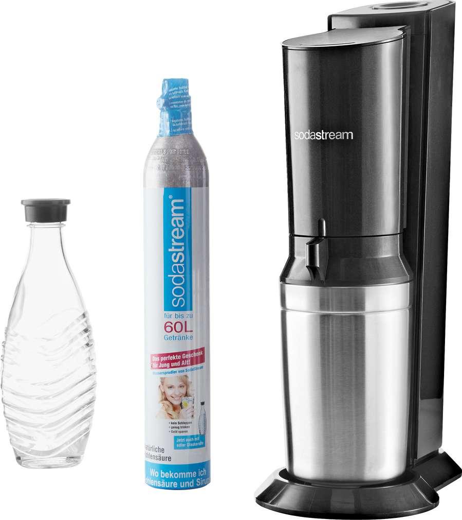 Abbildung des Sortimentsartikels SodaStream Wassersprudler Crystal Schwarz 1 Stück
