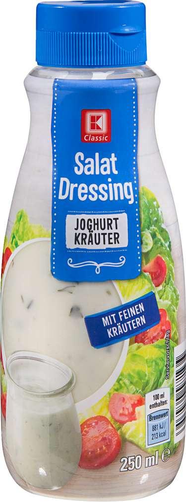 Abbildung des Sortimentsartikels K-Classic Salat Dressing Joghurt Kräuter 250ml