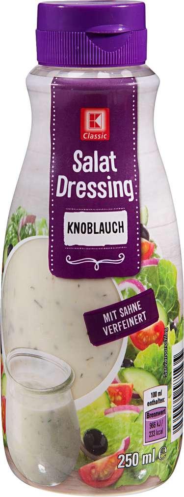 Abbildung des Sortimentsartikels K-Classic Salat Dressing Knoblauch 250ml