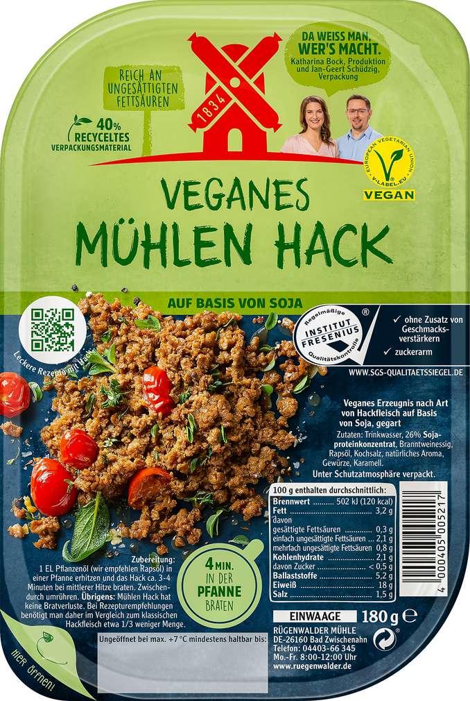 Abbildung des Sortimentsartikels Rügenwalder Mühle Vegetarisches Mühlen-Hack 180g