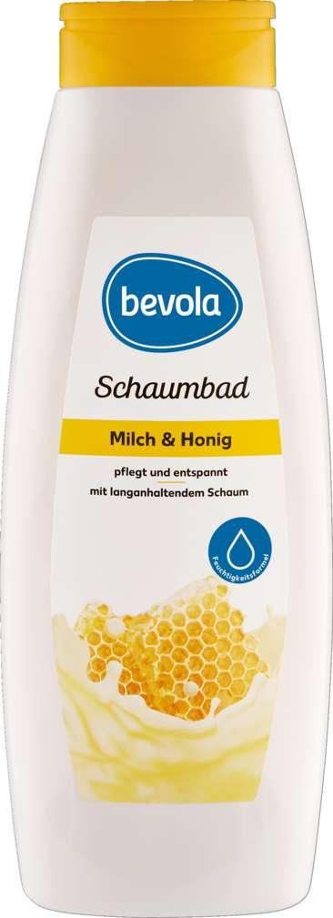 Abbildung des Sortimentsartikels Bevola Schaumbad Milch & Honig 1,0l