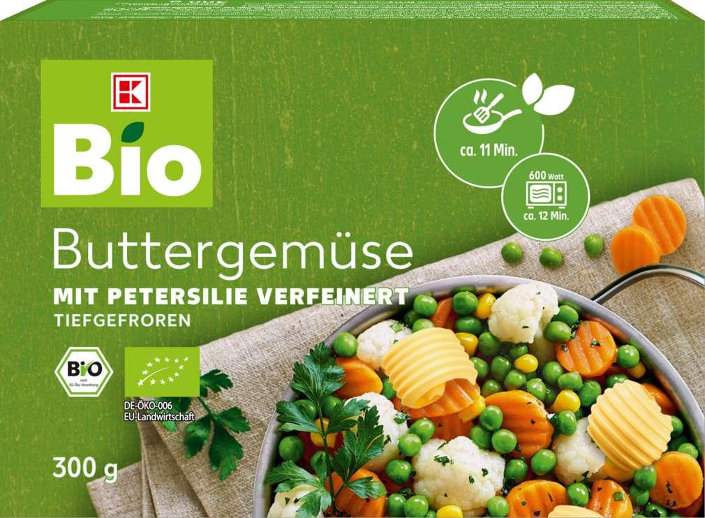 Abbildung des Sortimentsartikels K-Bio Bio-Buttergemüse 300g