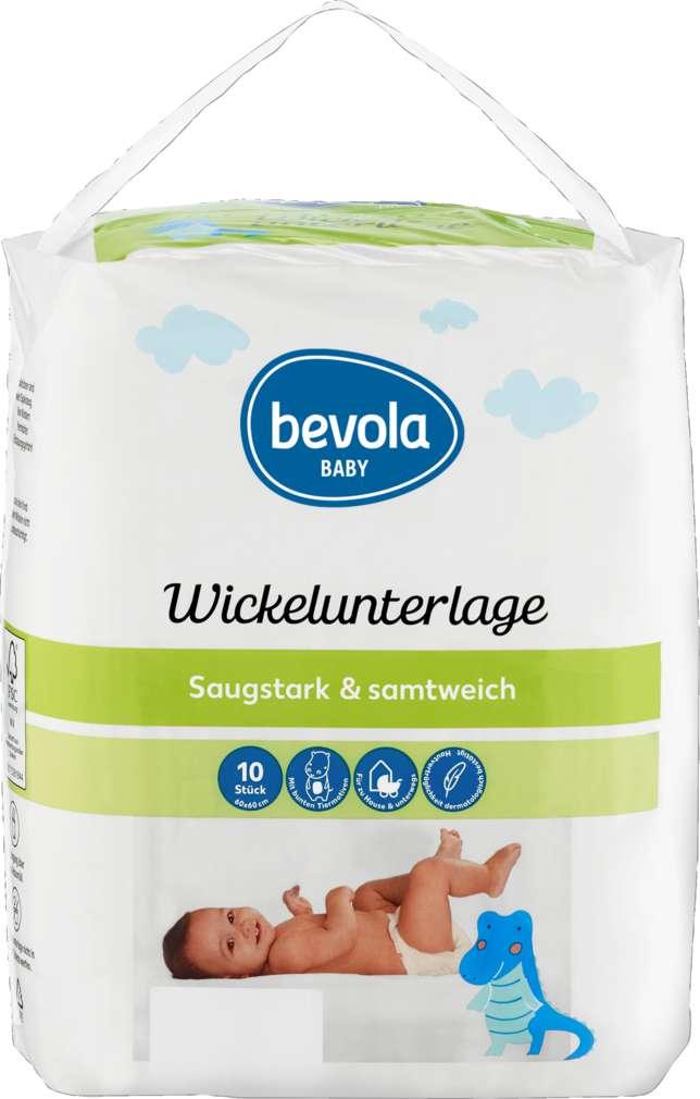 Abbildung des Sortimentsartikels Bevola Wickelunterlagen 10 Stück