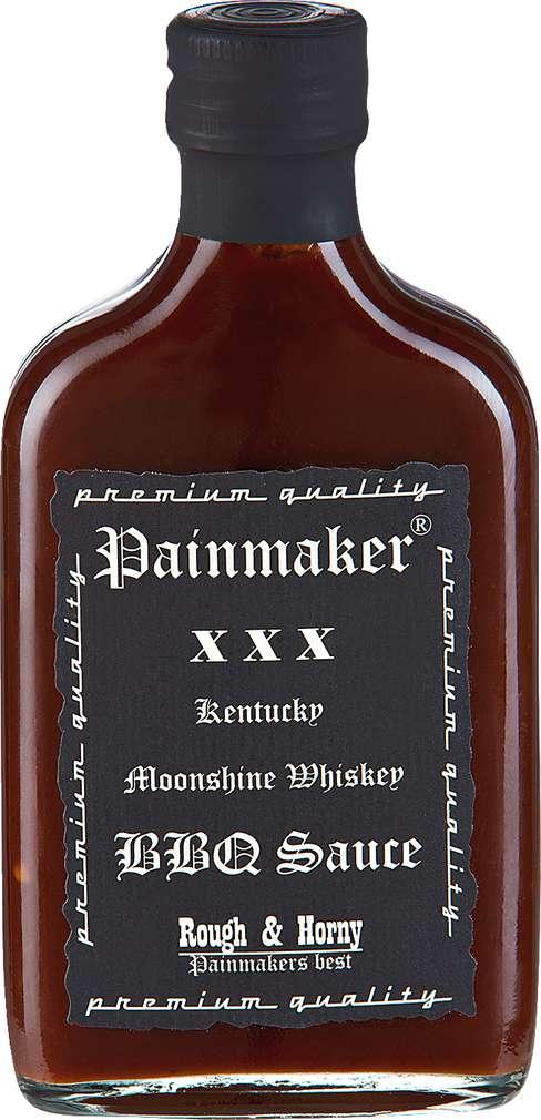 Abbildung des Sortimentsartikels Painmaker Kentucky Moonshine Whiskey BBQ Sauce 200ml