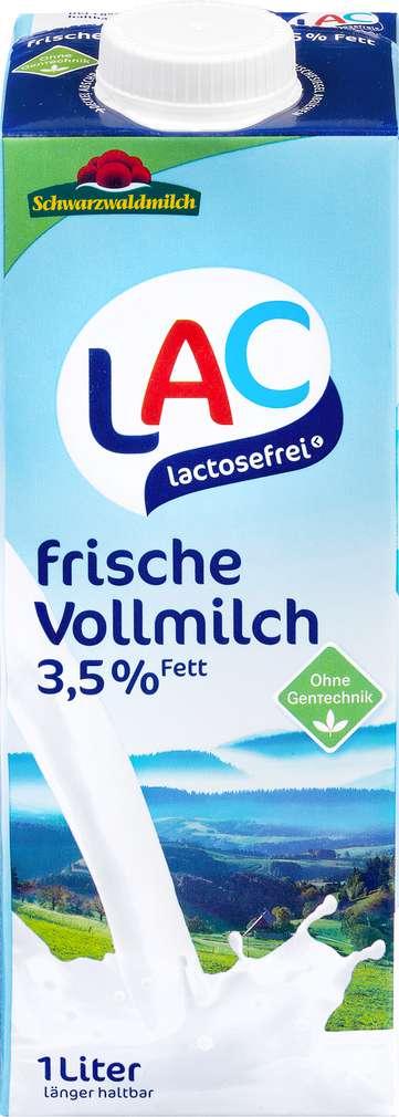 Abbildung des Sortimentsartikels Schwarzwaldmilch Frischmilch länger haltbar 1,5%F. lactosefrei 1l