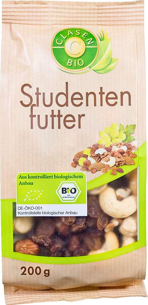 Abbildung des Sortimentsartikels Clasen Bio Studentenfutter 200g
